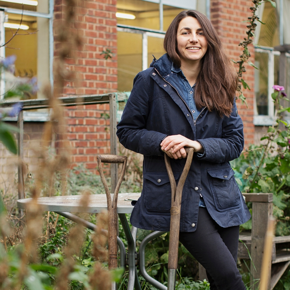 Natalie Mady pictured in a garden